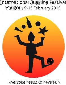 Yangon Juggling Festival Logo
