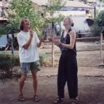 Haggis & Maike at Mae Sai guesthouse