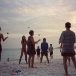 juggling lessons Thai beach style