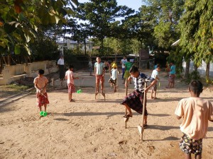 Boys Training Thanlyin 7th Jan