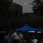 Moonrise 4th Jan Yangon
