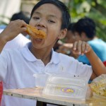 Day of Fun - free food from City Mart