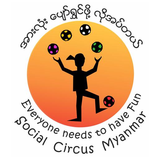Social Circus Myanmar new logo