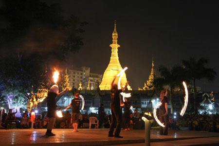 Festival Restrospective – Fire Show