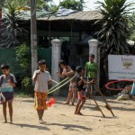 S4SK circus kids in Pearle, Mingaladon, north of Yangon