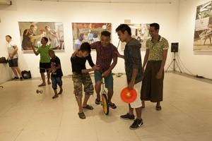 unicycle yangon gallery