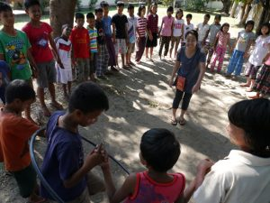 social circus workshop Mingaladon